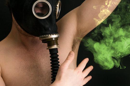 Bad body odor concept (stock image). Credit: © Ezume Images / Adobe Stock